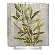3d Wild Flower Painting Shower Curtain