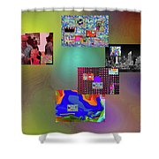 1-4-2057a Shower Curtain