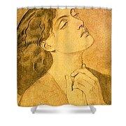 41147 Dante Gabriel Rossetti Shower Curtain