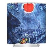 4dpictdswq Marc Chagall Shower Curtain