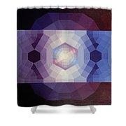 #65 Violet Field Shower Curtain