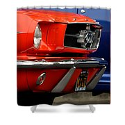 66 Mustang Fastback Shower Curtain
