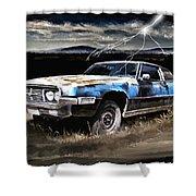 69 Thunderbird Shower Curtain