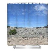 A Concho Landscape Shower Curtain