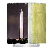 A Different View Shower Curtain