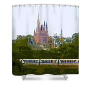 A Land Of Magic Shower Curtain