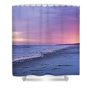 A Night On The Beach Begins Shower Curtain