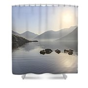 A Place Called Morning Shower Curtain