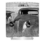 A Ride To The Past Shower Curtain