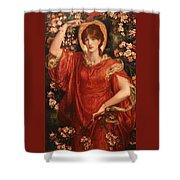 A Vision Of Fiammetta Shower Curtain