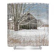 A Winters Day Shower Curtain