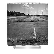 Abandoned Route 66 Shower Curtain