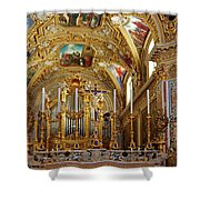 Abbey Of Montecassino Altar Shower Curtain