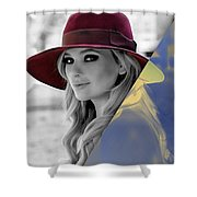 Abigail Breslin Collection Shower Curtain