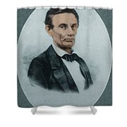 Abraham Lincoln, 16th American President Shower Curtain by Science Source
