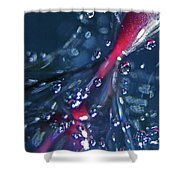 Abstract 089 Shower Curtain