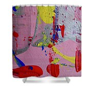 Abstract 10061 Shower Curtain