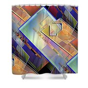 Abstract  145 Shower Curtain