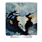 Abstract 880150 Shower Curtain