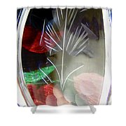 Abstract 9005 Shower Curtain