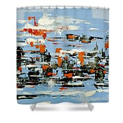 Abstract Art Project #25 Shower Curtain