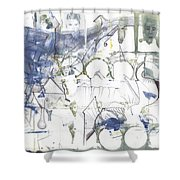 Sjb-17 Shower Curtain
