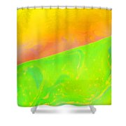 Abstract Colours Shower Curtain