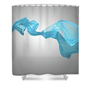 Abstract Fabric Background Shower Curtain