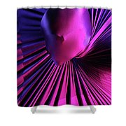 Abstract Human Head Shower Curtain