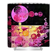 Abstract Painting - Mauvelous Shower Curtain