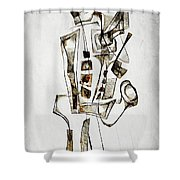 Abstraction 2844 Shower Curtain