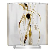 Abstraction 2933 Shower Curtain
