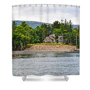 Coastal Acadia Shower Curtain