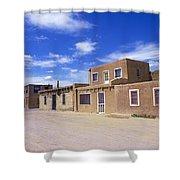 Acoma Pueblo Shower Curtain