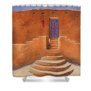 Acoma Steps Shower Curtain