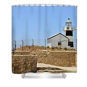 Acre, The Lighthouse  Shower Curtain