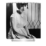Actress Mabel Normand Shower Curtain