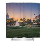 Adelaide Sunset Shower Curtain