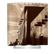 Adobe Sunset Shower Curtain