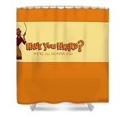 Adult Swim Shower Curtain