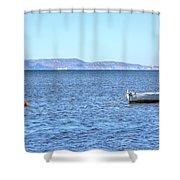 Aegadian Islands - Sicily Shower Curtain