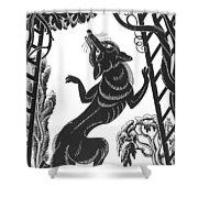 Aesop: Fox & Grapes Shower Curtain