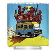 African Americans Shower Curtain