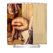 After The Bath Shower Curtain