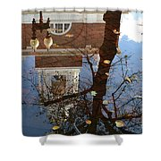 After The Rain In Boston Shower Curtain