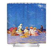 afternoon fun Edward Henry Potthast Shower Curtain