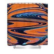 Agave Abstract Shower Curtain
