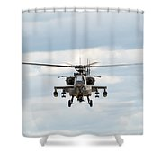Ah-64 Apache Shower Curtain