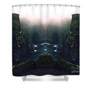 Aillte Collide Shower Curtain