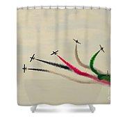 Air-show Shower Curtain